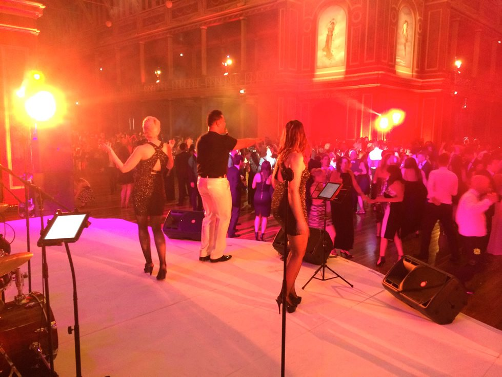 Heatwave band perform at a corporate event in Melbourne
