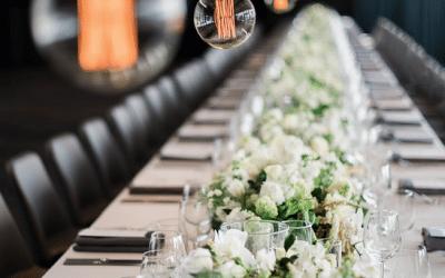 Create a Wedding oasis.