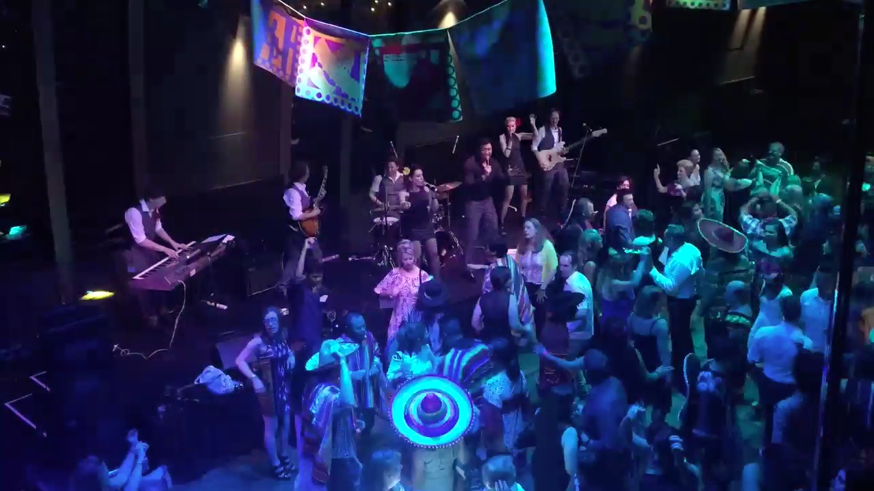 Heatwave Band Corporate Gig Time-lapse