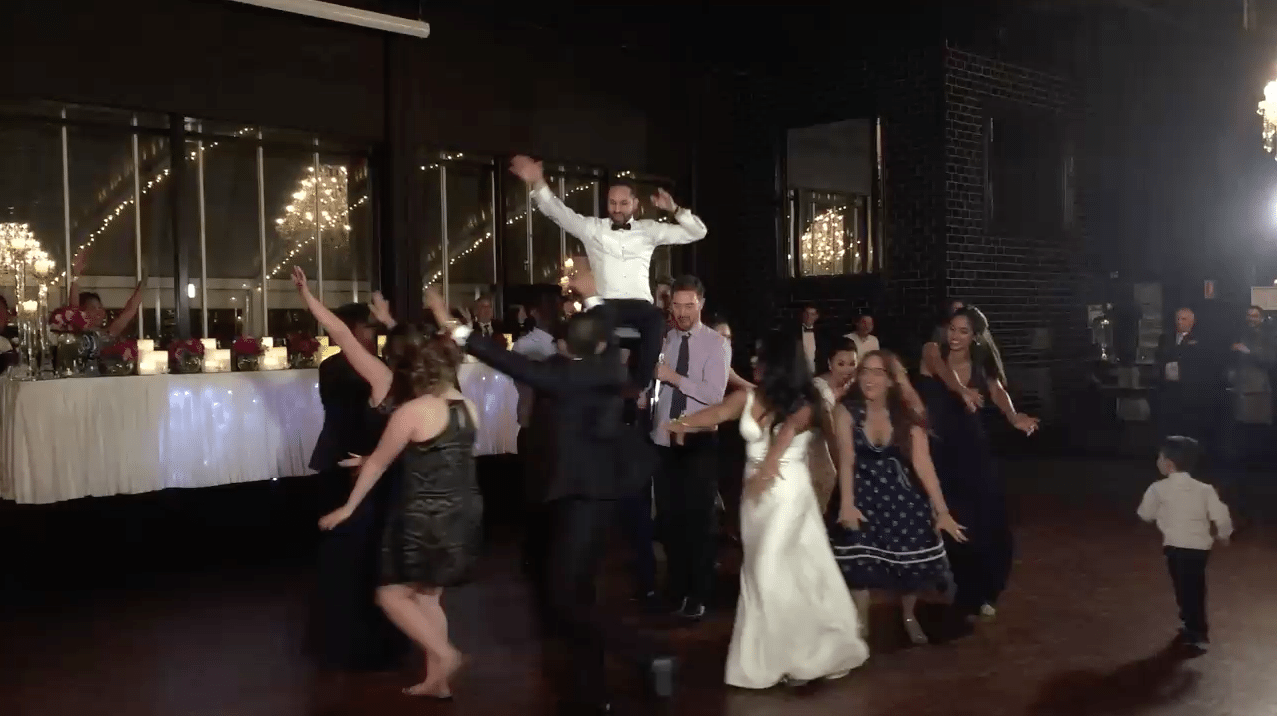 Heatwave's favourite surprise wedding dance